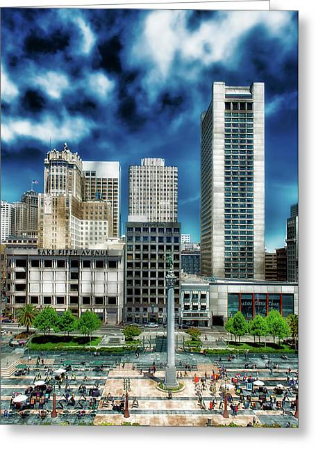 Union Square - San Francisco Greeting Card