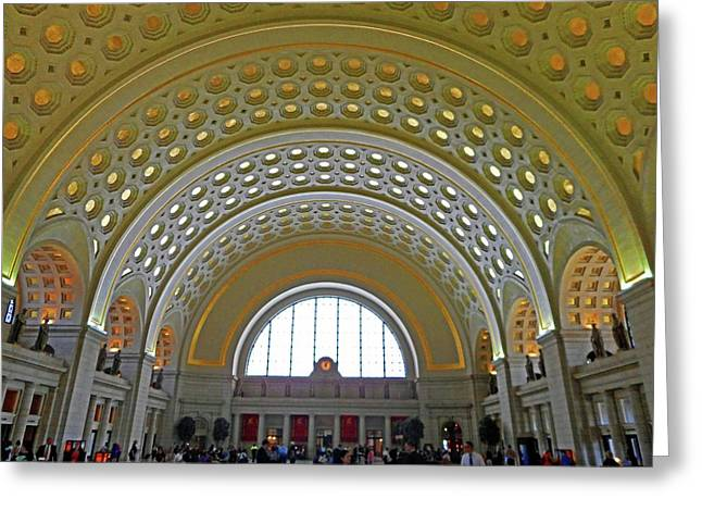 Union Station 12 Greeting Card
