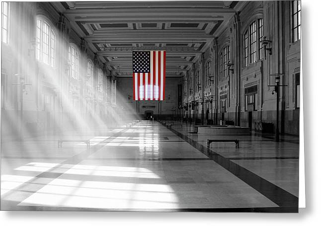 Union Station 2 - Kansas City Greeting Card