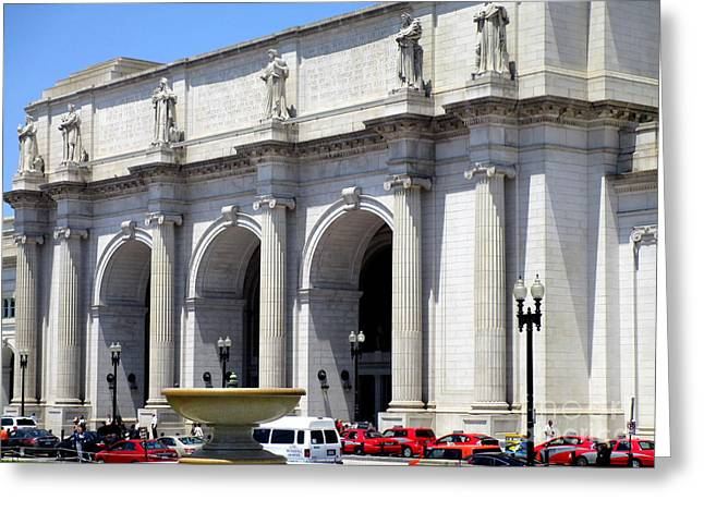 Union Station D C 1 Greeting Card
