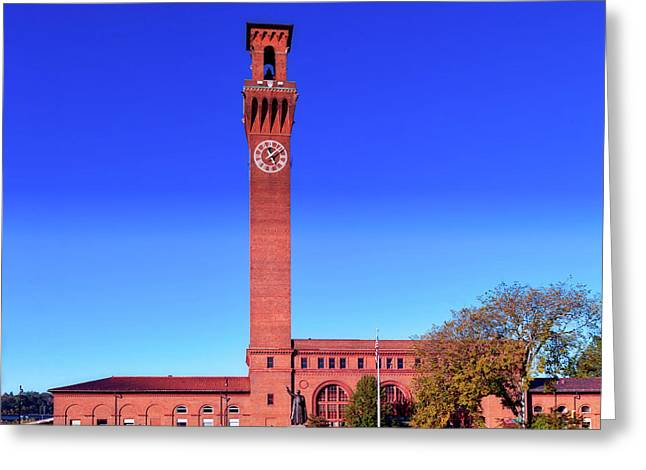 Union Station In Waterbury Connecticut Greeting Card