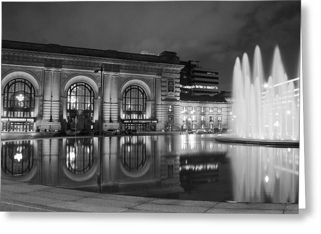 Union Station Reflections Greeting Card