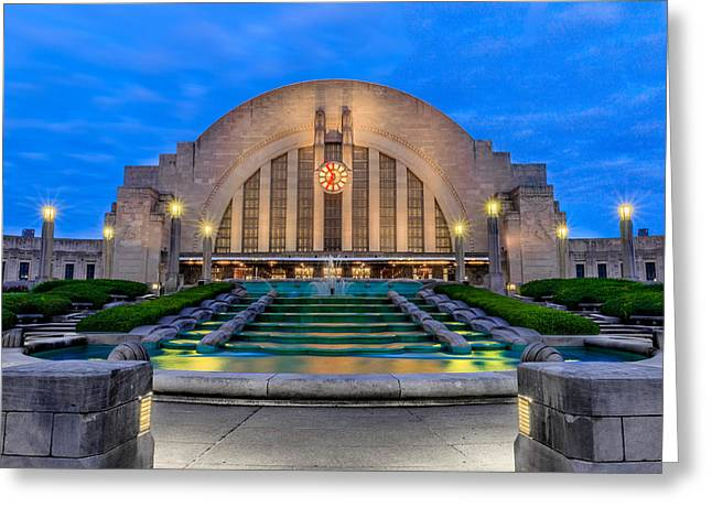 Union Terminal At Sunrise II Greeting Card