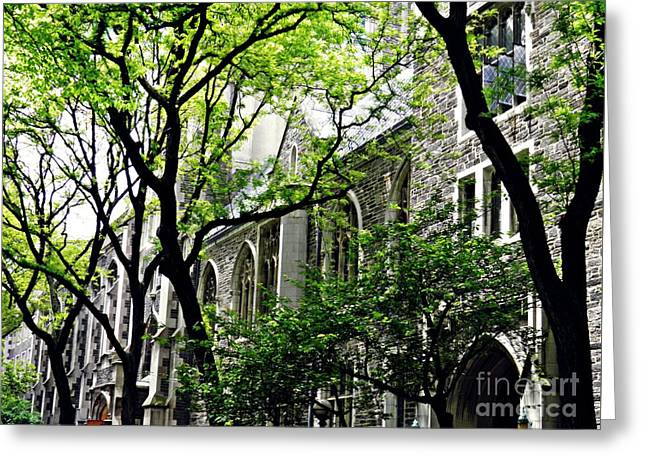 Union Theological Seminary 2 Greeting Card