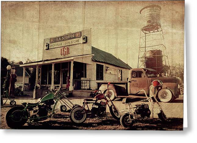 Greeting Card featuring the photograph Unionville Genral Store by Joel Witmeyer