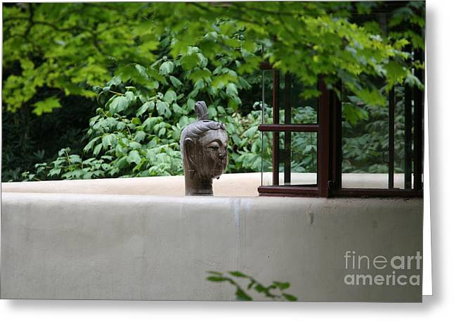 Unique View Fallingwater  Greeting Card by Chuck Kuhn