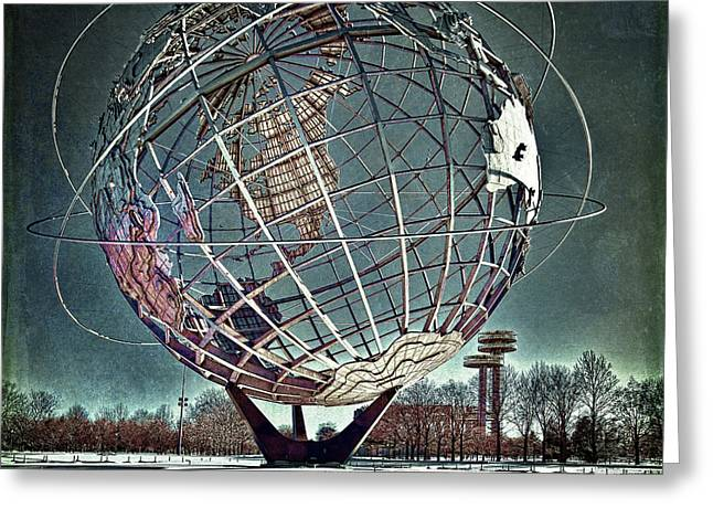 Unisphere Greeting Card