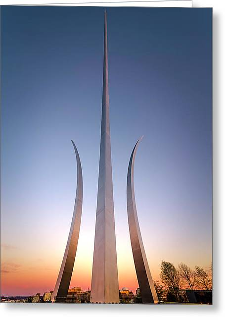 United States Air Force Memorial Greeting Card