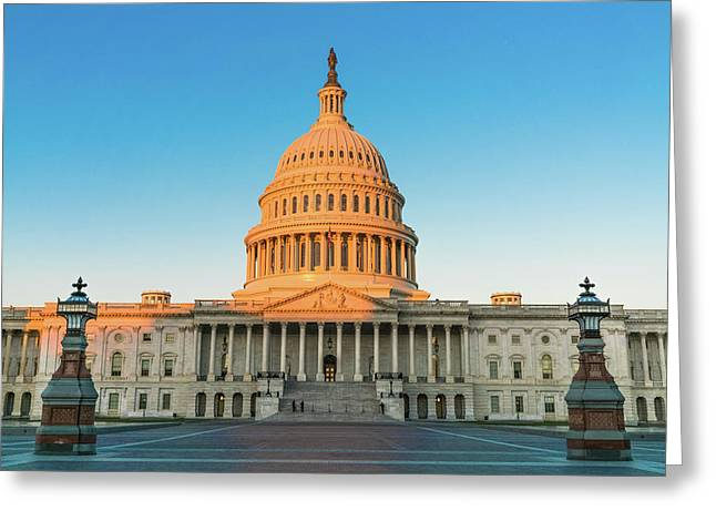 United States Capitol  Greeting Card