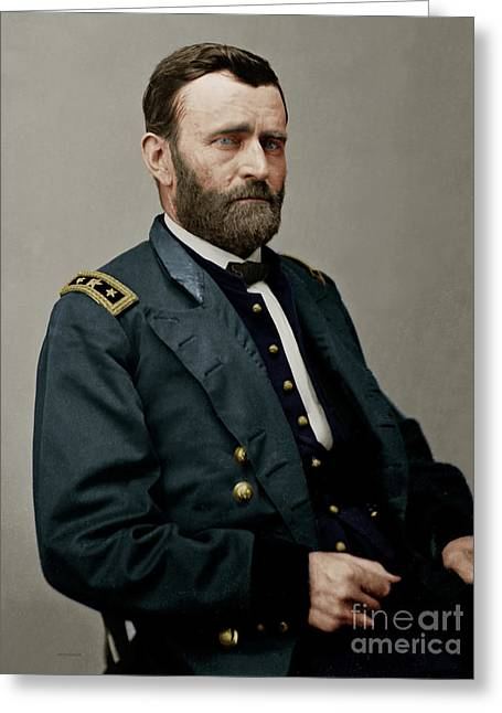 United States Of America President General Ulysses S Grant 20170521 Greeting Card
