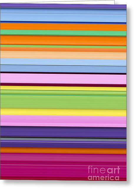 Unity Of Colour 7 Greeting Card