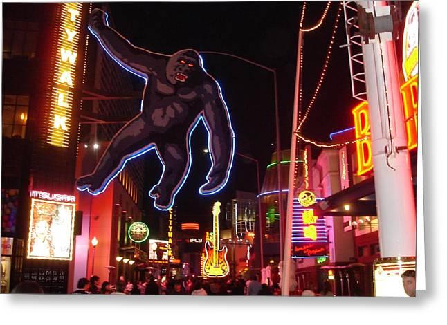 Universal King Kong Greeting Card