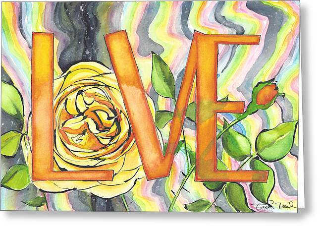 Universe Of Love Greeting Card