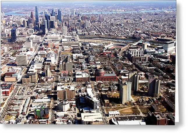 University City Philadelphia Greeting Card