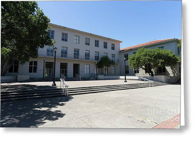 University Of California At Berkeley Dwinelle Hall Dsc6274 Greeting Card