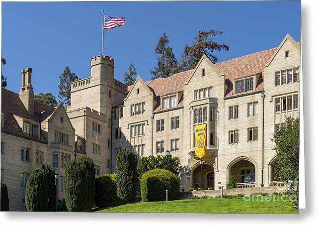 University Of California Berkeley Historical Bowles Hall College Dormatory Dsc4759 Greeting Card
