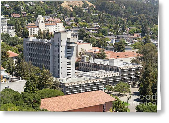 University Of California Berkeley Wurster Hall College Of Environmental Design Dsc4103 Greeting Card