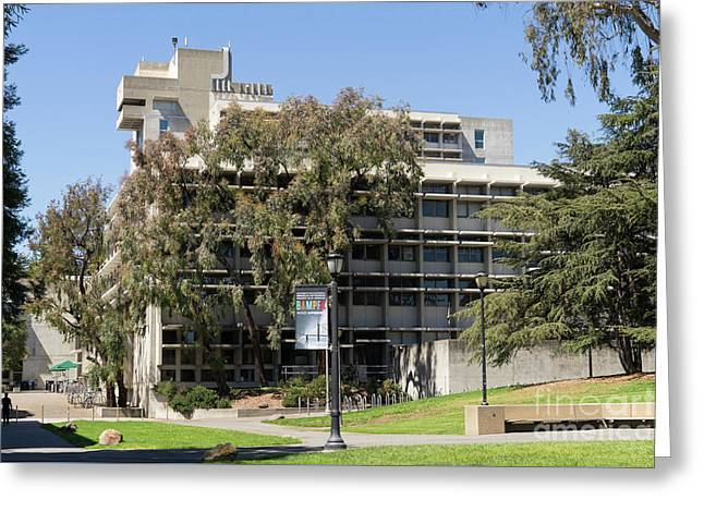 University Of California Berkeley Wurster Hall College Of Environmental Design Dsc4136 Greeting Card