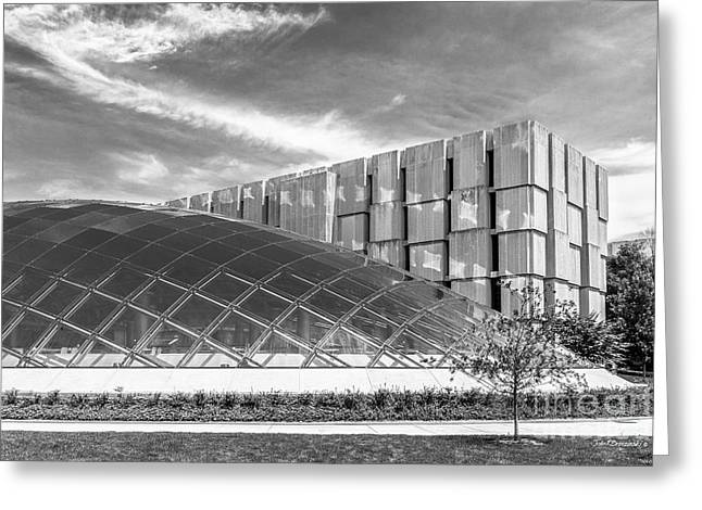 University Of Chicago Mansueto Library Greeting Card by University Icons