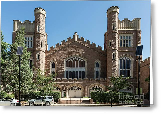 University Of Colorado Greeting Card by John Greim