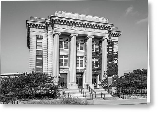 University Of Minnesota Johnston Hall Greeting Card by University Icons