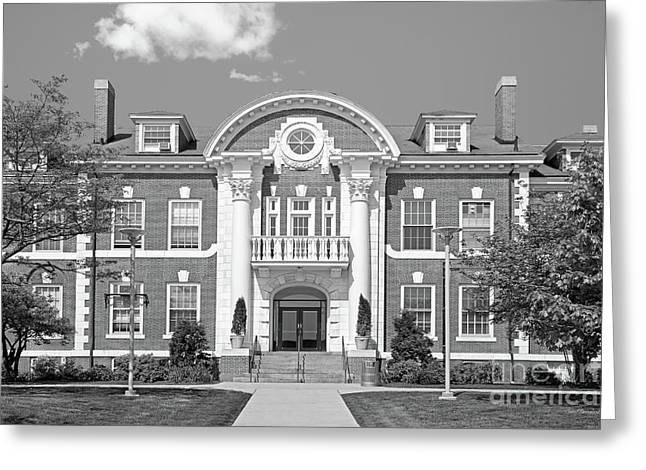 University Of New Haven Maxcy Hall Greeting Card by University Icons