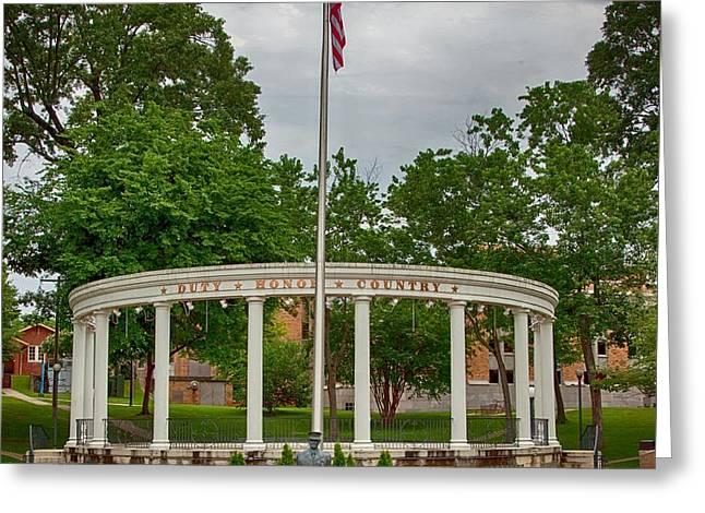 University Of North Alabama Memorial Greeting Card