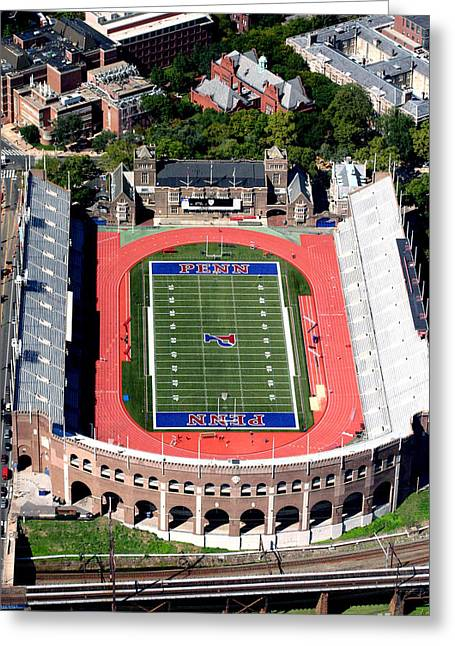 University Of Pennsylvania Franklin Field S 33rd Street Philadelphia Greeting Card