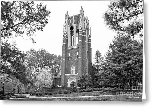 University Of Richmond Boatwright Library Greeting Card by University Icons