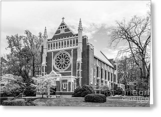 University Of Richmond Cannon Chapel Greeting Card by University Icons