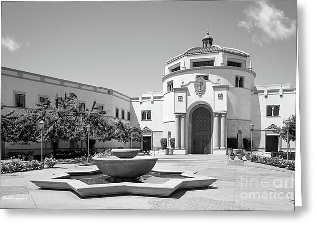 University Of San Diego Kroc School Of Peace Greeting Card by University Icons