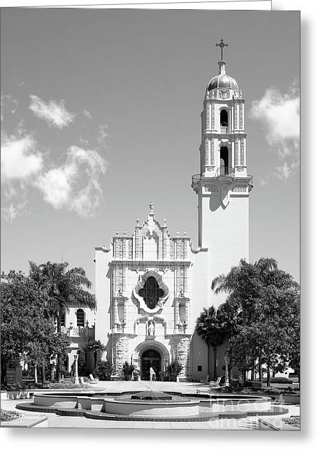 University Of San Diego The Church Of The Immaculata Greeting Card by University Icons
