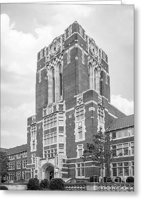 University Of Tennessee Ayres Hall Greeting Card by University Icons