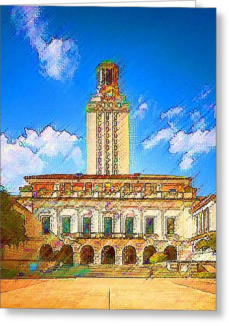 University Of Texas Greeting Card
