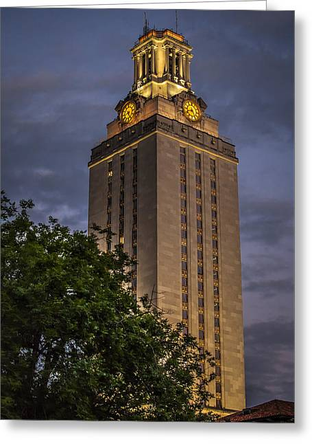 University Of Texas Tower Greeting Card