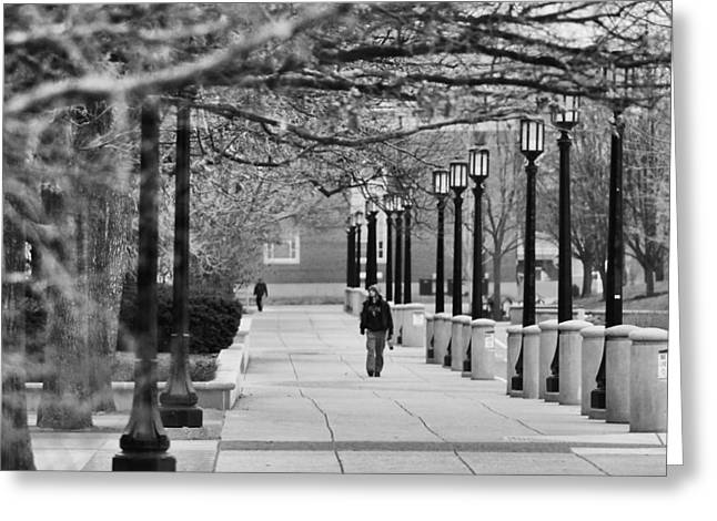 University Walk Greeting Card