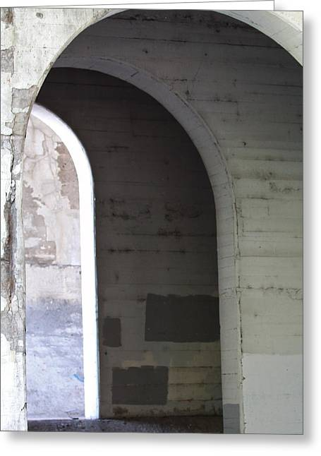 Greeting Card featuring the photograph Unknown Portal by Kate Purdy