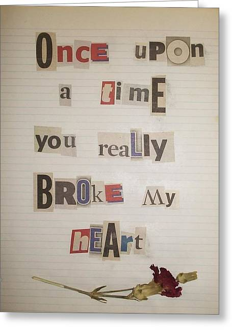 Unmailed Letter 3 Greeting Card by William Douglas