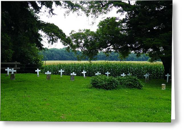 Unmarked Youth Center Graves #2 Greeting Card by The GYPSY