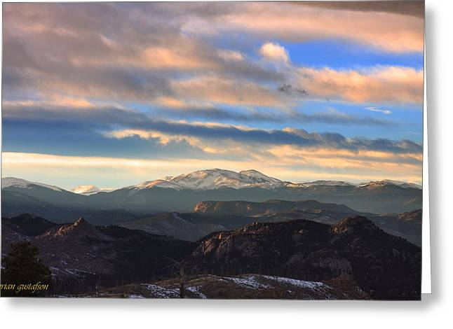 The Unmatched Beauty Of The Colorado Rockies Greeting Card