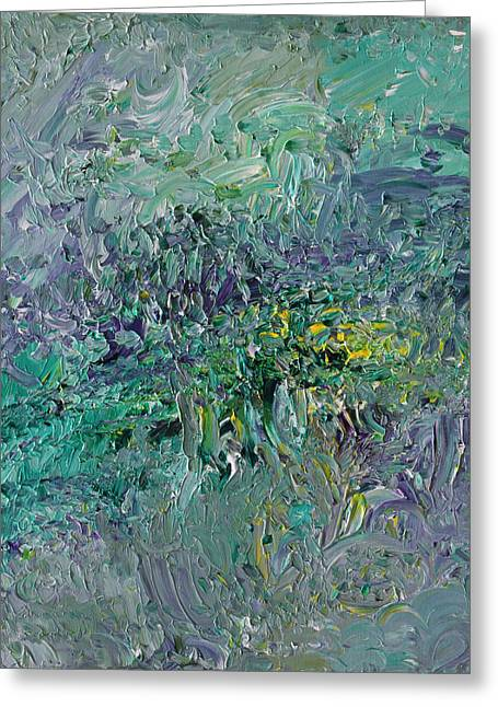 Blind Giverny Greeting Card