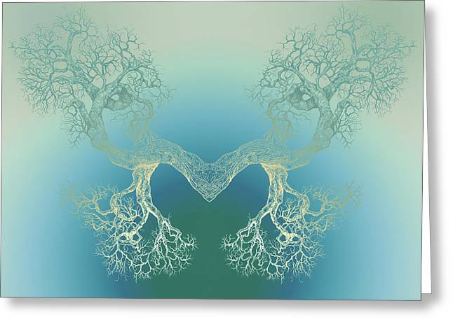 Until It Makes You See Tree9 Greeting Card