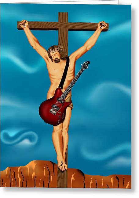 Until There Was Rock You Only Had God Greeting Card