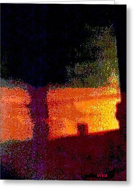 Untitled 1 - By The Window Greeting Card
