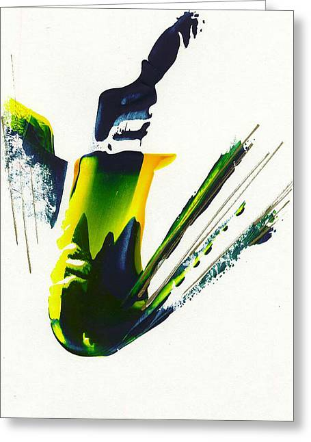 Untitled -23 Greeting Card by Thomas Lupari