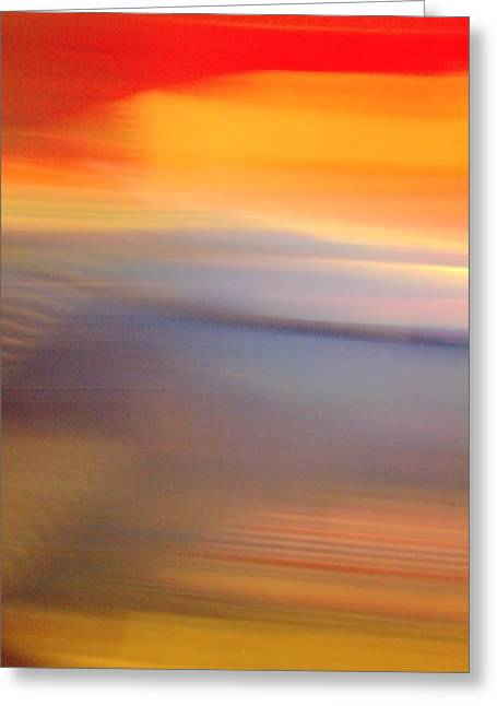 Untitled 3 Greeting Card by Terence Morrissey