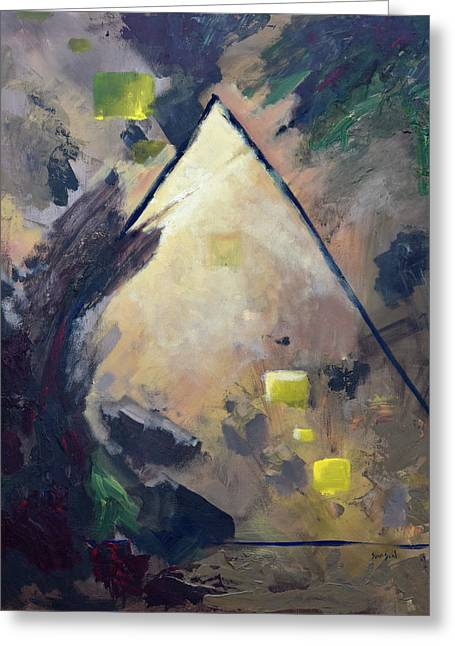 Untitled Abstract 730-17 Greeting Card