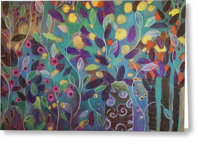 Untitled II Greeting Card by Suzaine Smith