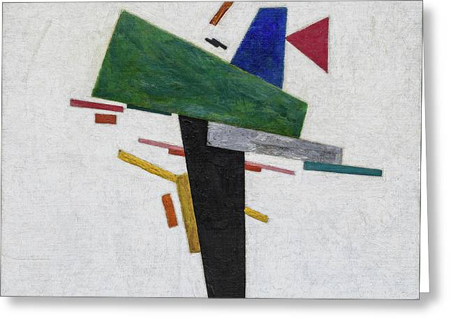 Untitled Greeting Card by Kazimir Malevich