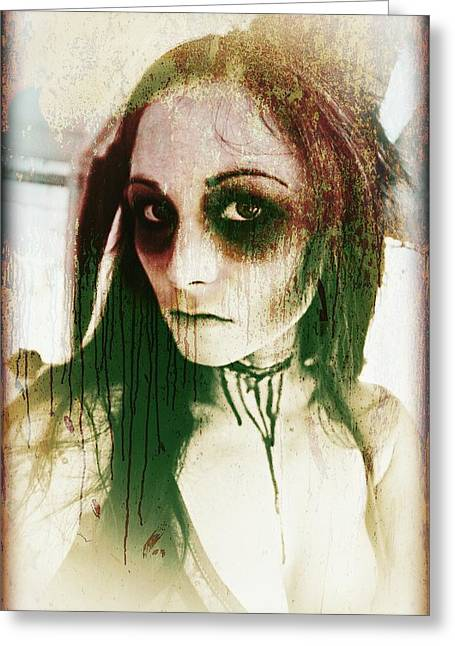 Gothic Greeting Cards - Untitled  Greeting Card by Mandy Shupp